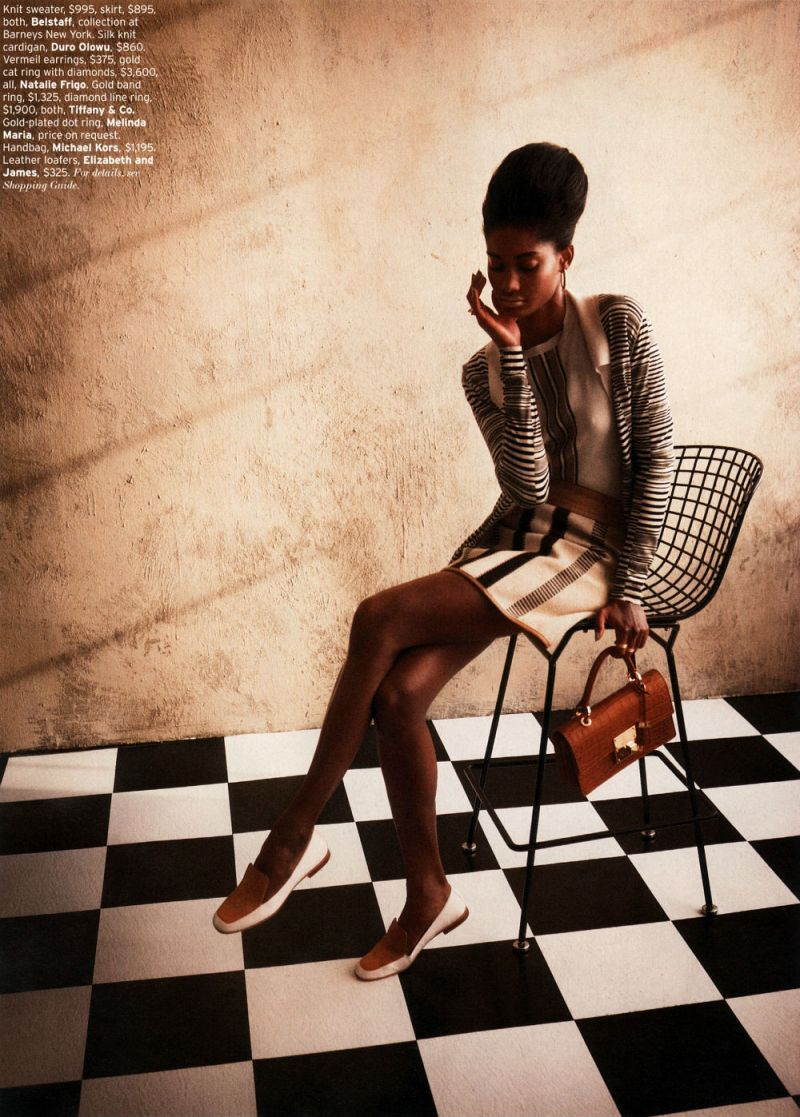 Melody Monrose by Mariano Vivanco for Elle US April 2013-3