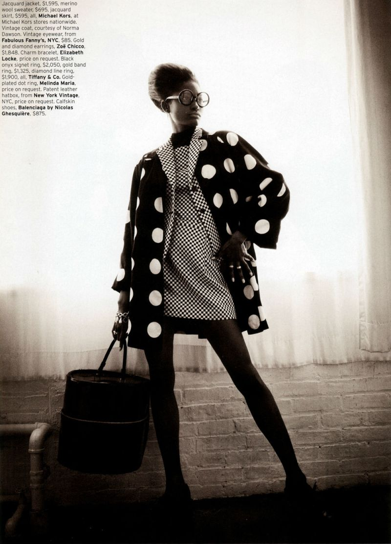 Melody Monrose by Mariano Vivanco for Elle US April 2013-6