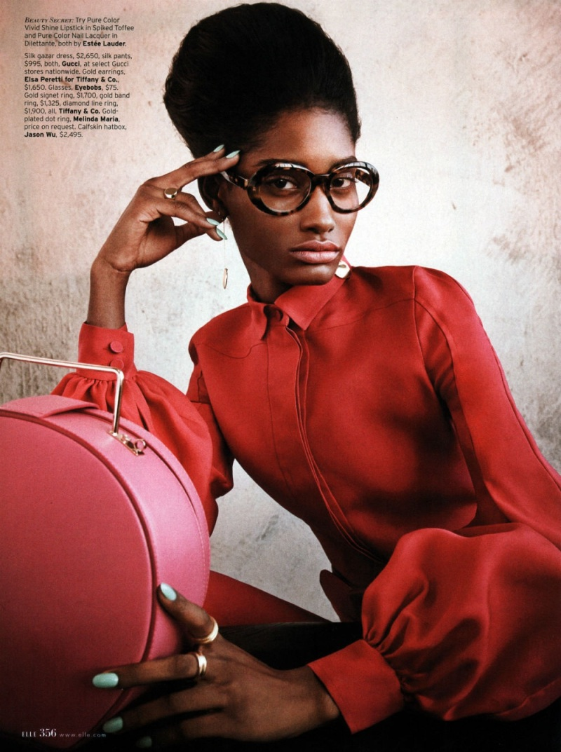 Melody Monrose by Mariano Vivanco for Elle US April 2013-8