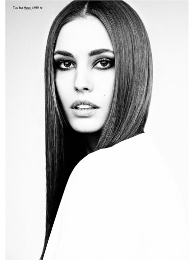NADJA BENDER FOR EUROWOMAN BY HONER AKRAWI
