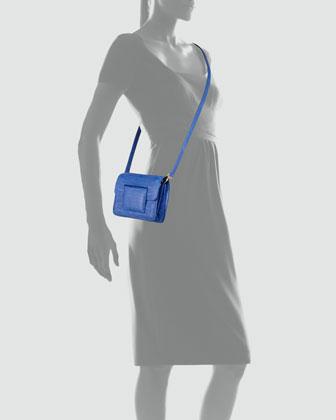 Nancy Gonzalez Front-Flap Crocodile Crossbody Bag-2