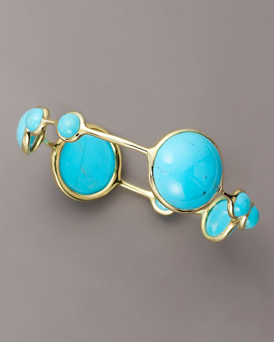 ppolita Nine-Stone Turquoise Bangle
