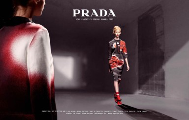 Prada : Real Fantasies Lookbook Spring 2013