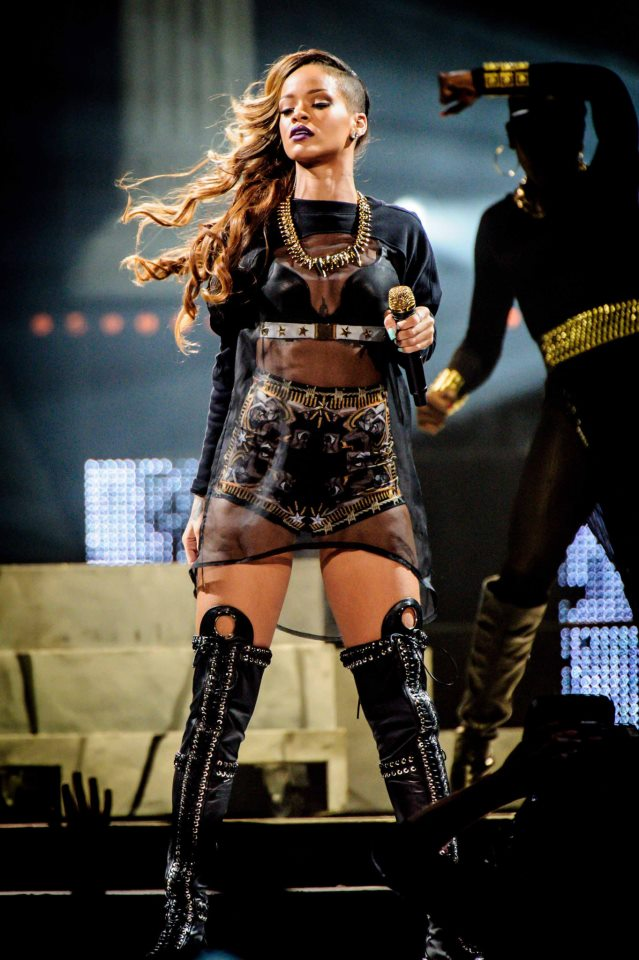 Rihanna's Diamonds World Tour Costumes By Givenchy-1