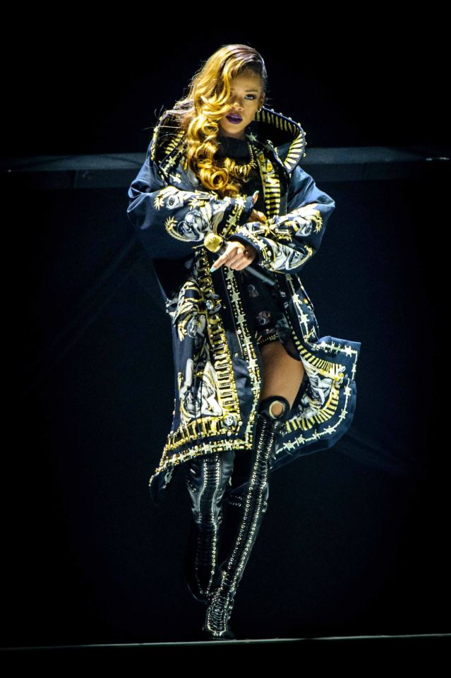 Rihanna's Diamonds World Tour Costumes By Givenchy