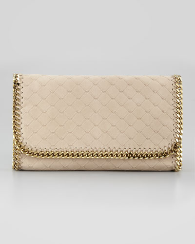 Stella McCartney Falabella Flap-Top Clutch Bag