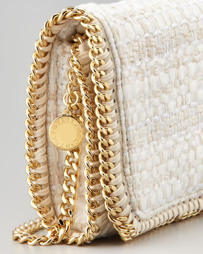 Stella McCartney Metallic Boucle Crossbody Bag-2