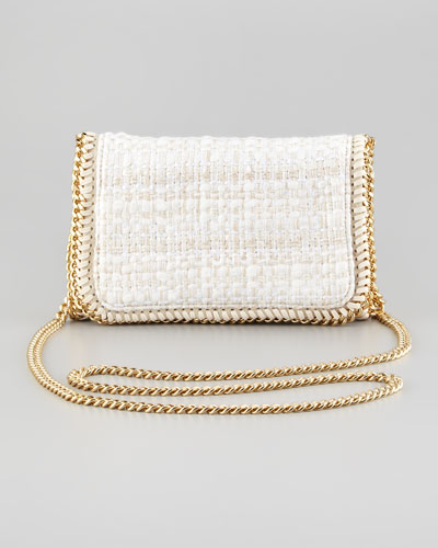 Stella McCartney Metallic Boucle Crossbody Bag