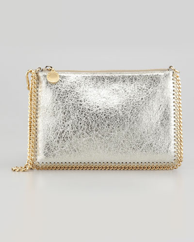 Stella McCartney Metallic Mini Chain Shoulder Bag