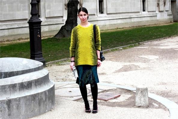 street style at paris fashion week fall 2013-14
