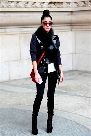 street style at paris fashion week fall 2013-15