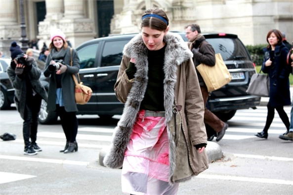 street style at paris fashion week fall 2013-17