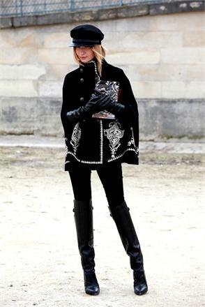 street style at paris fashion week fall 2013-6