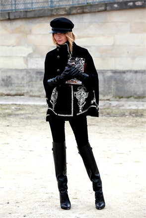 street style at paris fashion week fall 2013-6
