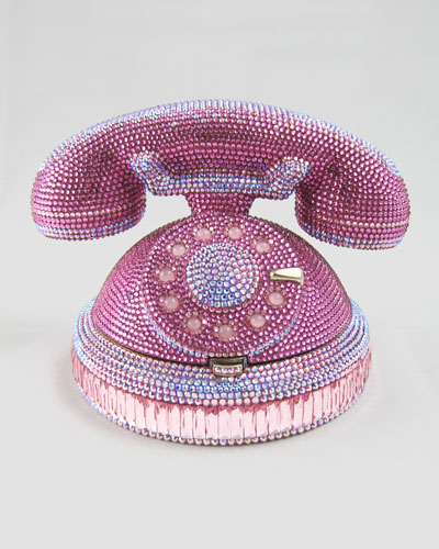 udith Leiber Ringaling Rotary Phone Minaudiere