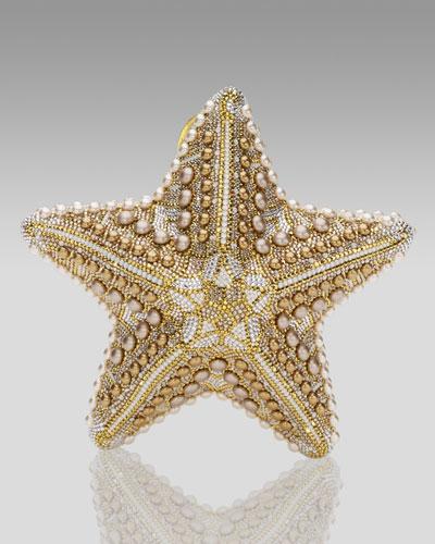 udith Leiber Starfish Minaudiere