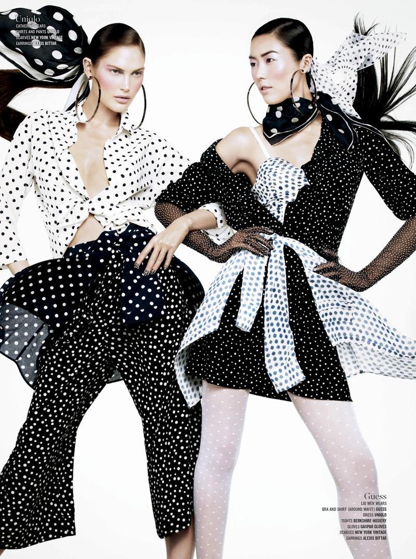 V Magazine double vision-12