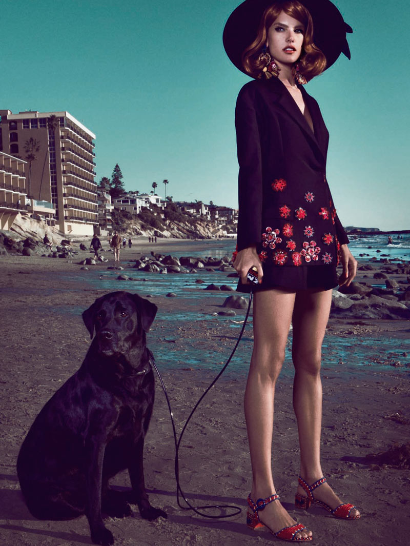 Vogue Brazil - California Dreamin' -1