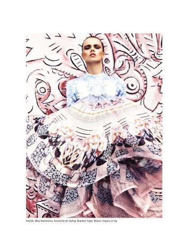 Vogue Brazil : Estampe Sua Marca (Stamp Your Brand)