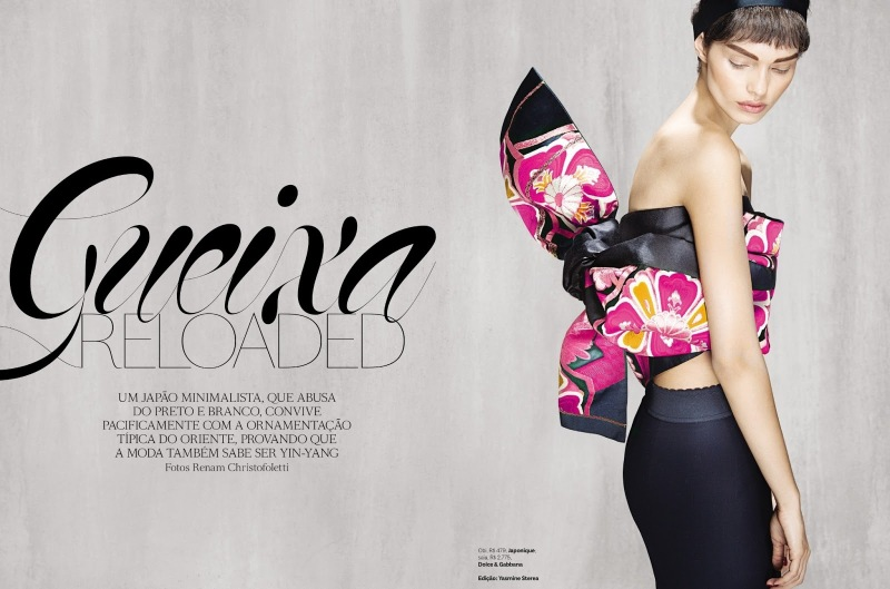 Vogue Brazil : Gueixa Reloaded (Geisha Reloaded)