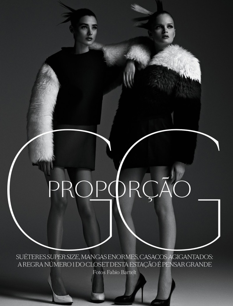 Vogue Brazil : Proporçao GG (Proportion LL)