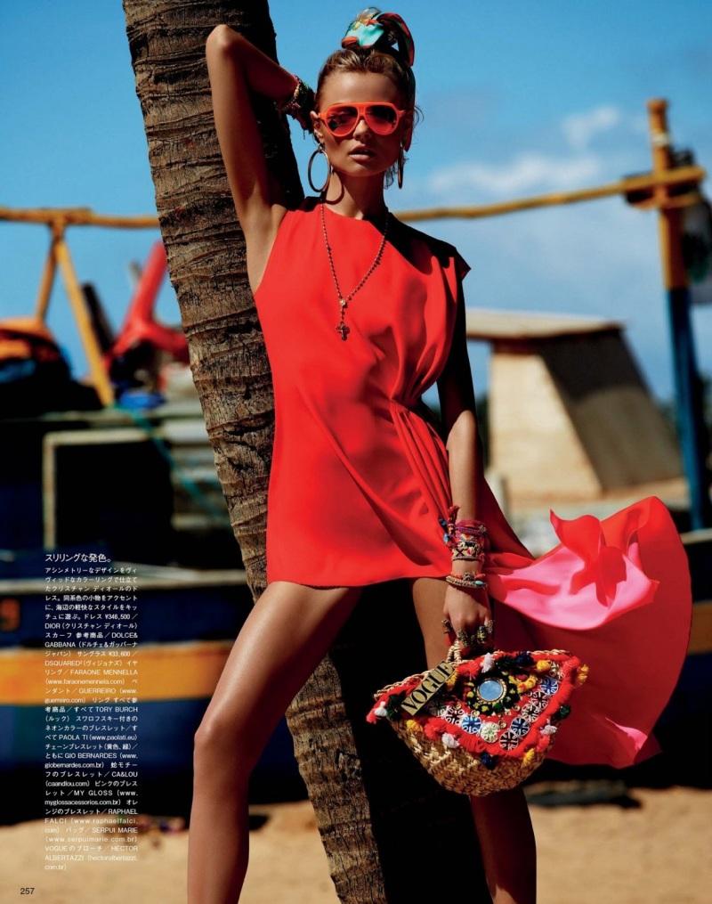 Vogue Japan : I'll Be At The Beach