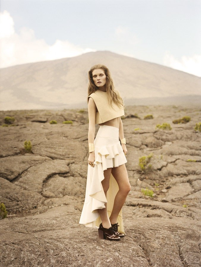 Vogue Japan : Reflections From The Mountain Tops