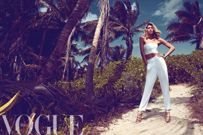 Vogue Mexico : Dar En El Blanco