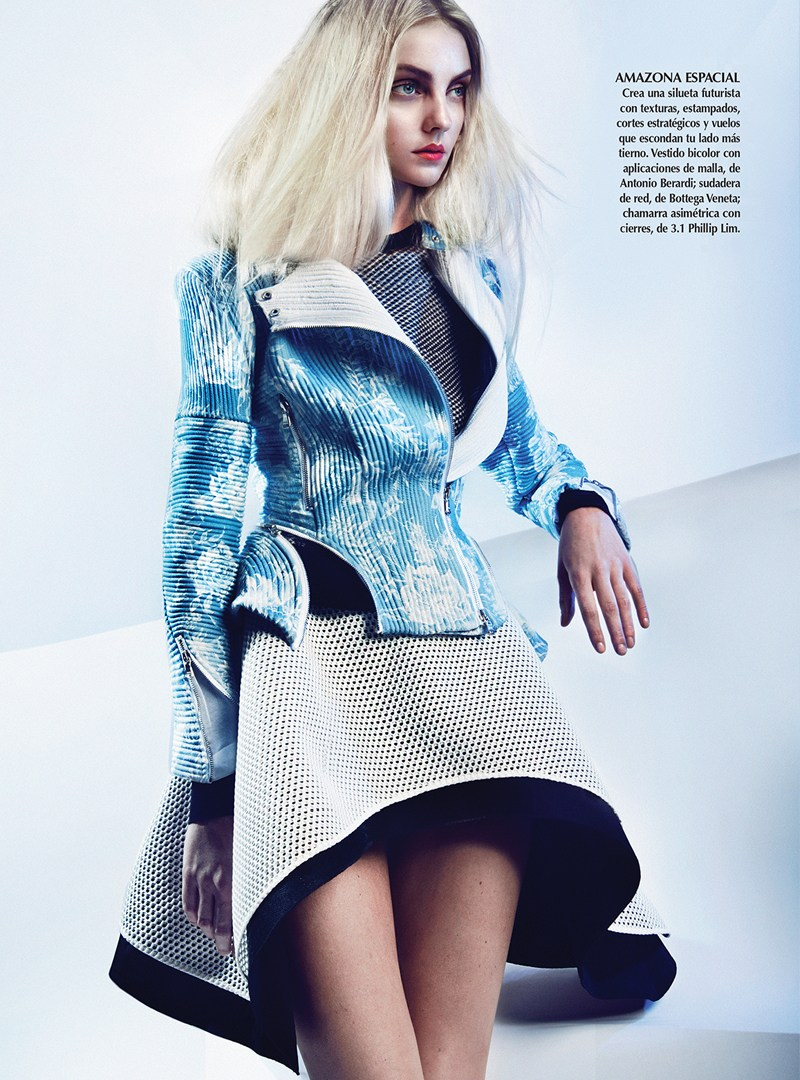 Vogue Mexico : Diva Azul