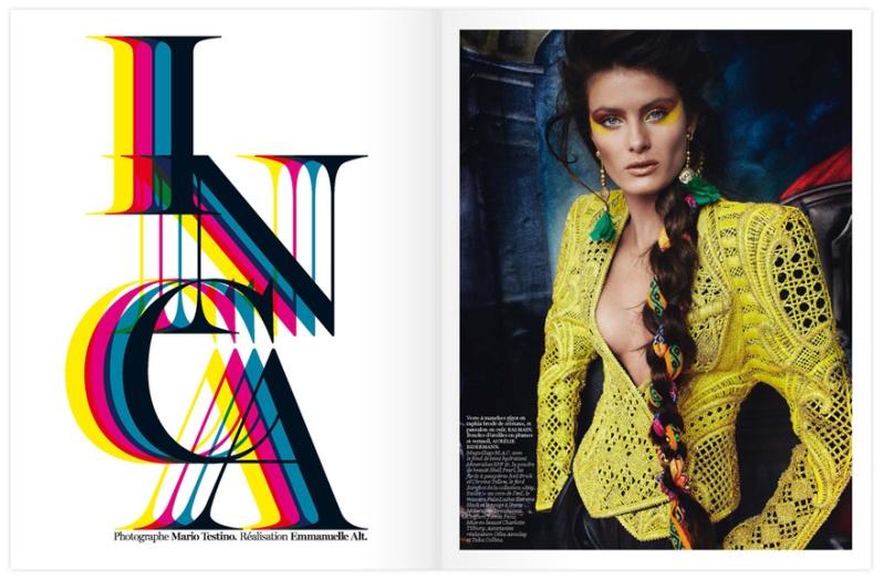 Vogue Paris - Inca-8