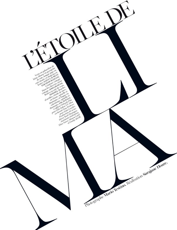 Vogue Paris : L'Étoile De Lima