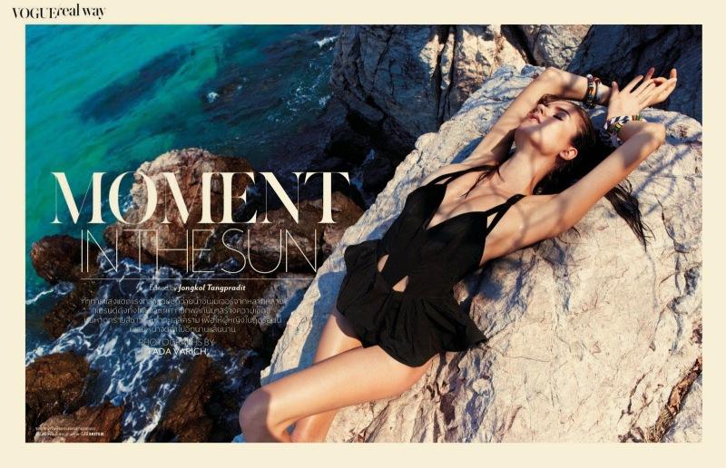 Vogue Thailand - Moment In The Sun
