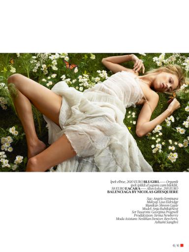 Vogue Turkey : Anja Rubik