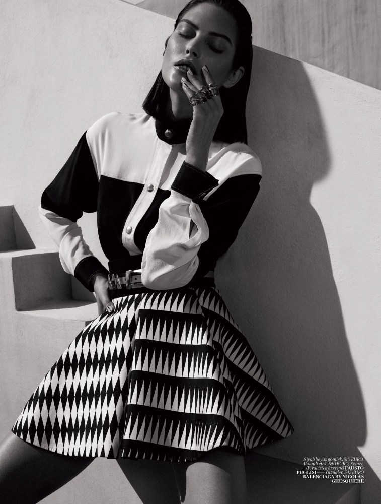 Vogue turkey black and white 2