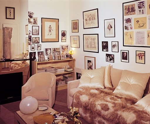 Yves Saint Laurent's Timeless Left Bank Apartment-1