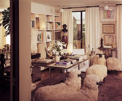 Yves Saint Laurent's Timeless Left Bank Apartment-2