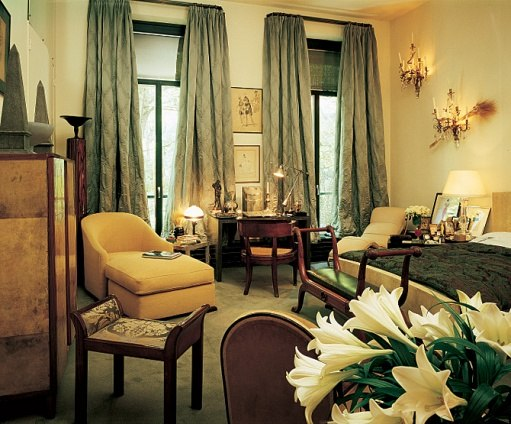 Yves Saint Laurent's Timeless Left Bank Apartment-6