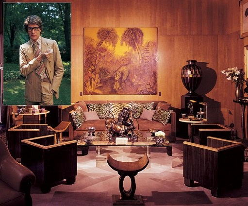 Yves Saint Laurent's Timeless Left Bank Apartment