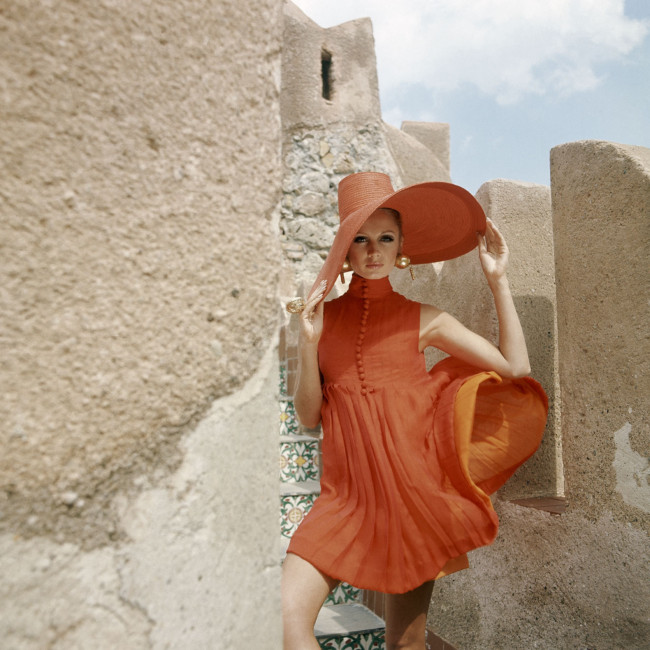 A 1960s Vogue summer look from Palermo, Italy.