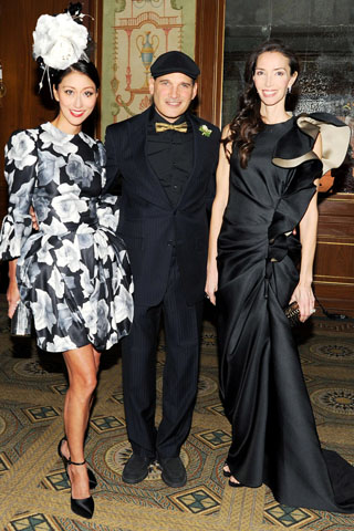 Adelina Wong Ettelson, Phillip Bloch, and Olivia Chantecaille.