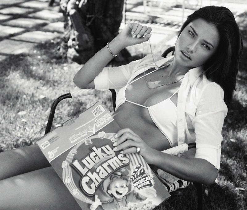 Adriana Lima For  Esquire Uk May 2013