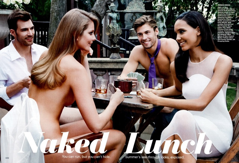 Allure Magazine : Naked Lunch