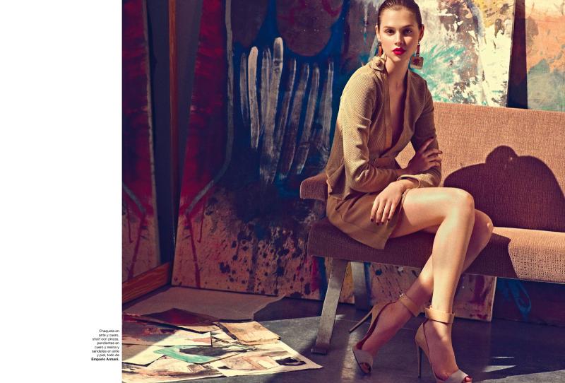 Harper's Bazaar Spain : Oleo Sobre Lienzo