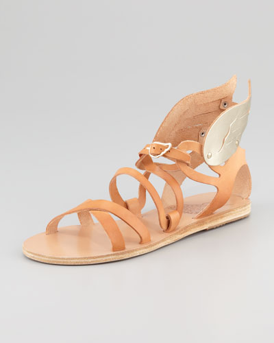 Ancient Greek Sandals Nephele Winged Strappy Sandal