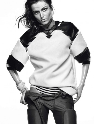 Andreea Diaconu by David Sims for Vogue Paris May 2013