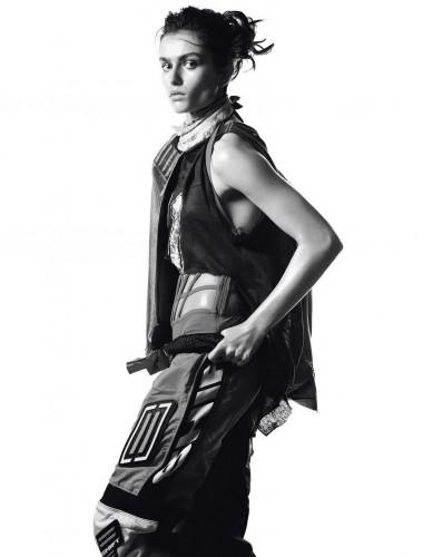 Andreea Diaconu by David Sims for Vogue Paris May 2013