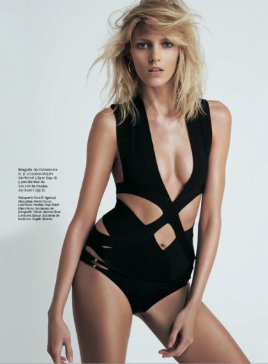 Anja Rubik By Eric Guillemain For S Moda April 2013