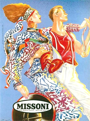 Antonio Lopez for Missoni 1982 - 1985
