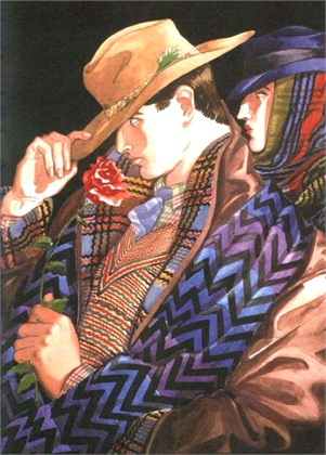 Antonio Lopez for Missoni 1982
