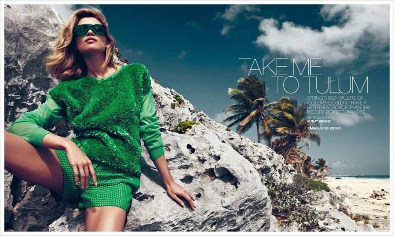 Bal Harbour Magazine : Take Me To Tulum